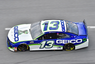 Ty Dillon and The Gecko score 12th place finish at the GEICO 500