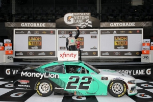 NXS: Austin Cindric wins inaugural Xfinity Series race at Daytona Road Course