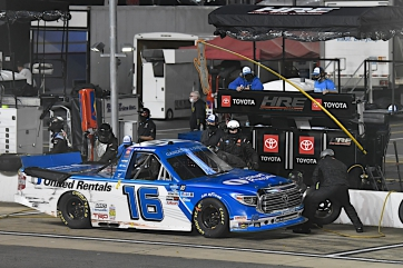 Hill's Playoff Hopes Stay Afloat After Bristol Mayhem