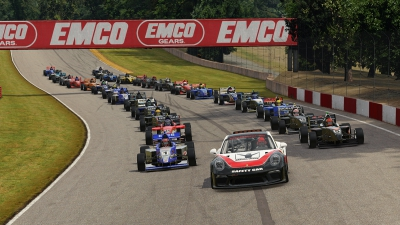 Eves Claims First Road to Indy eSeries Win at Home in Ohio
