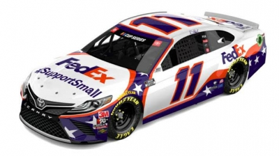 Denny Hamlin and FedEx Unveil New Paint Scheme, Paying Tribute to Small Business Owners