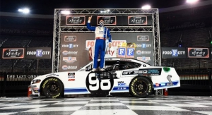 NXS: Chase Briscoe wins Food City 300 at Bristol Motor Speedway