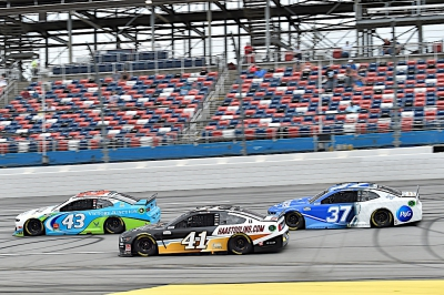 Custer Finishes 22nd at Talladega