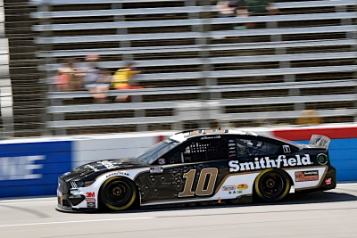 Aric Almirola Looking To Lead More Laps In Kansas