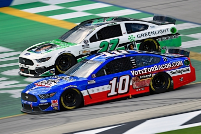 Almirola Finishes Eighth at Kentucky