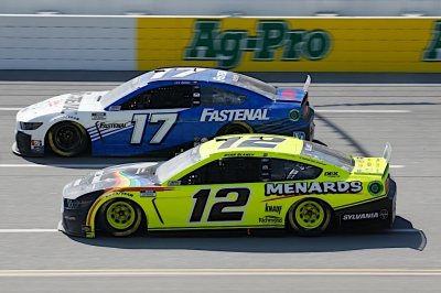 Buescher Finishes 21st After Turning in Strong Performance Early at Talladega