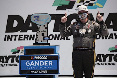 Sheldon Creed Wins Inaugural Race at Daytona Road Course
