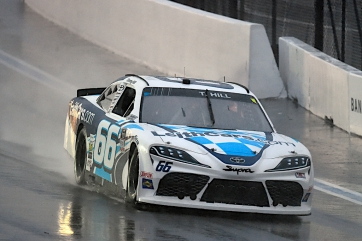 Rainy Day Ends Early for Hill at Charlotte