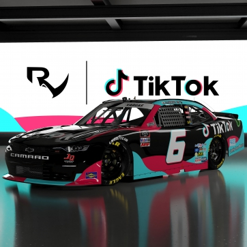 TikTok breaks into NASCAR and partners with Ryan Vargas and JD Motorsports for remainder of 2020 season