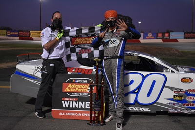 Moore sweeps NASCAR late model competition in Roseville