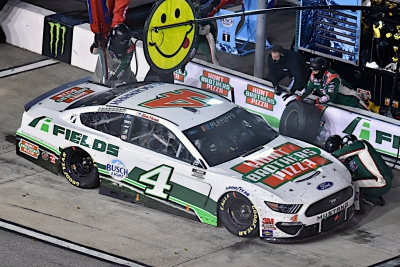 Harvick Finishes Solid Seventh at Richmond