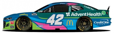 Chip Ganassi Racing and AdventHealth Raise Awareness for Breast Cancer in Kansas