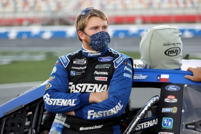 Buescher Comes Home 22nd at Charlotte