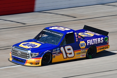 Kraus Battles For Truck Series Playoff Spot