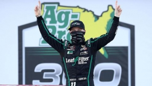 NXS: Justin Haley wins Xfinity Playoff race at Talladega