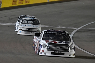 Mechanical Issue Derails Effort By Kraus At Vegas