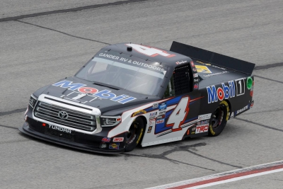 Tire Rub Relegates Lessard to 18th-Place Finish in Atlanta