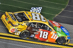 Kyle Busch Sneaks Through Mayhem for Busch Clash Victory