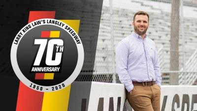 Vaughan Crittenden Named Promoter and General Manager of Larry King Law's Langley Speedway